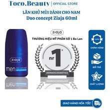 Ziaja Lăn Khử Mùi Duo Concept – Organic Dành Cho Nam - 60Ml