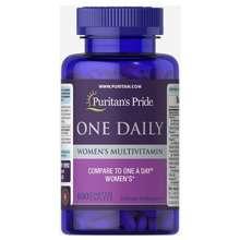 Puritan's Pride Vitamin Tổng Hợp Cho Phụ Nữ 1 Viên/Ngày Puritans Pride One Daily Womens Multivitamin 100 Viên