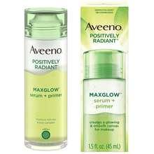 Aveeno - Tinh Chất Dưỡng Ẩm Da Positively Radiant Maxglow Serum + Primer 45Ml
