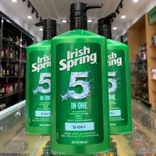 Irish Spring Sữa Tắm Gội Toàn Thân Cho Nam 5 In 1 _[Hàng Mỹ Chính Hãng]