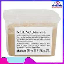 Davines Mặt nạ ủ (hấp dầu) phục hồi tóc hư tổn Nounou Hair mask 250ml