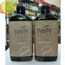 NASHI ( Xả Kho) Combo cặp dầu gội - xả dưỡng phục hồi tóc Argan 500ml x2