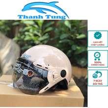 GRS Mũ Bảo Hiểm Nửa Đầu A33K Dành Cho Phụ Nữ Bảo Hành 12 Tháng