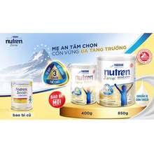 Nestlé (Date Cập Nhật Mới) Combo 2 Lon Sữa Tăng Cân Nutren Junior Lon 800G.