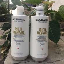 GOLDWELL [HCM]Dầu gội xả Dualsenses Rich Repair Đức chăm sóc tóc hư tổn (2x1000ml)
