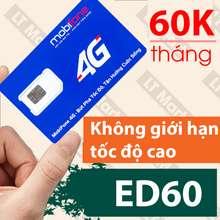 Sim 3G/4G Mobifone Sim 4g Mobifone trọn gói không cần nạp tiền 180GB/tháng (6GB/ngày) trọn gói 3 tháng CS3N