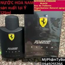 Ferrari ❤️Nước Hoa Nam-Scuderia Black(125)Ml