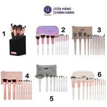 BH Cosmetics Bộ Cọ Trang Điểm -8 Loại Cọ