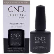 CND Shellac Nail Color Powerful Hematite by for Women 0.25 oz Nail Polish