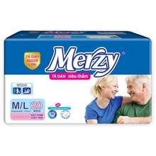 Merzy Tã Dán Người Già M-L20 (Tặng 2 Miếng Lót)