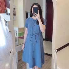 Zara Đầm Bầu Thắt Eo Nút Mở Cho Mẹ Sau Sinh