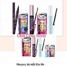 Kiss me Set Mascara Long/ Volume & Curl + Eyeliner Heroin