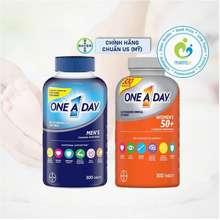 Bayer Vitamin Tổng Hợp (300V) Tăng Sinh Lực, Miễn Dịch Cho Nam/Nữ Giới Dưới 50 Tuổi One A Day Men'S/Women'S Multivitamin, Usa