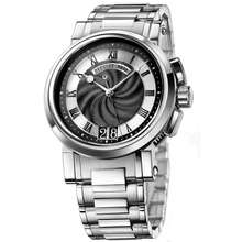 Breguet Marine Black Dial Automatic Mens Stainless Steel Watch 5817ST92SM0