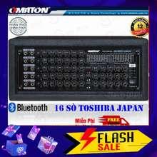 OMATON Ampli Bluetooth Amply Karaoke Am-9600Ni Hàng Cao Cấp - Tặng 2 Chống Lăn Micro