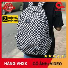 Vans [Hàng Hot] Balo Old Skool Checkerboard Backpack Xuất Dư Xịn
