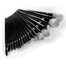 e.l.f. Cosmetics Bộ Cọ Trang Điểm Xếp Lớp Bealy 17C Black Fire - Uongthuoclag
