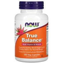 NOW Foods True Balance Multi Vitamin & Mineral 120 Veg Capsules