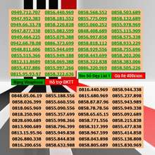 Vinaphone Số Đẹp Vina Giá Rẻ 330K List 1 Miễn Phí Đăng Ký Chính Chủ Được Hưởng Nhiều Gói Khuyến Mãi Của
