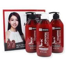 3w clinic Bộ 2 Dầu Gội 1 Dầu Xả Tinh Chất Nhân Sâm Đỏ - Red Ginseng Shampoo