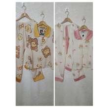 Thỏ Pijama Đồ Bộ Pijama Tay Dài Lụa Mango Cao Cấp
