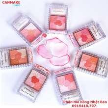 CANMAKE [-Nhật Bản] Phấn Má Hồng Rạng Rỡ-Glow Fleur Cheeks