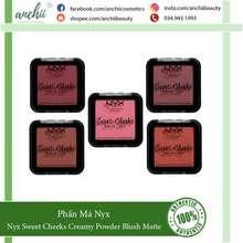 NYX Professional Makeup [Top 1 Uy Tín] Phấn Má Nyx Sweet Cheeks Creamy Powder Blush Matte