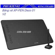 XP-Pen Bảng Vẽ Điện Tử Deco 01 V2 Android 6X10 Inch Lực Nhấn 8192 Hỗ Trợ Cảm Ứng Nghiêng
