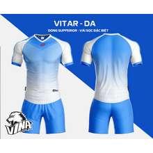 CP Sport Bộ quần áo bóng đá Bộ đồ đá banh VITAR Thương hiệu không logo.