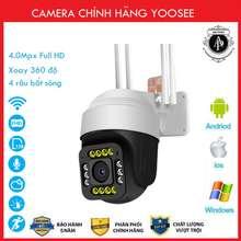 Yoosee Camera NgoàI TrờI Ptz 4 Rau 14Led Xoay 360 Độ 3.0Mpx Full Hd Bh 5 Năm MẫU MớI 2020