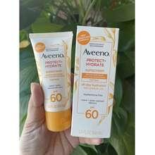 Aveeno (Tự Nhập Mỹ, Air, Có Bill) Kem Chống Nắng Sunscreen Protect Plus Hydrate Lotion Spf 60