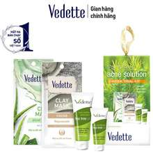 Vedette Bộ Trà Tràm Mini Tea Tree Oil Acne Solution - Sáng Da, Giảm Viêm Và Ngừa Mụn