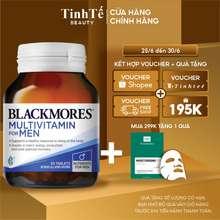 Blackmores [Mã Fmcgmall Giảm 8% Đơn Từ 250K] Vitamin Tổng Hợp Dành Cho Nam Giới Men'S Performance Multi 50 Viên
