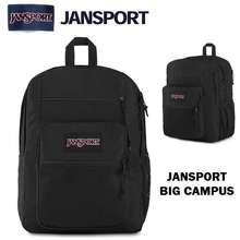 JanSport Balo - Big Campus Backpack - Js0A47K8 - Black