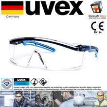 UVEX Kính Bảo Hộ 9164065 Astrospec 2.0 Gọng Xanh Clear Optidur Nch Len - Chống Xước, Chống Hóa Chất Cao Cấp (Kèm Hộp)