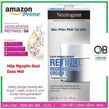 Neutrogena Retinol Sa - Kem Dưỡng Ẩm + Chống Lão Hoá Nếp Nhăn Retinol Sa Rapid Wrinkle Repair, Regenerating Cream, 50Ml