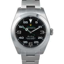 Rolex Air King Black Dial Stainless Steel Men's Watch 116900BKAO